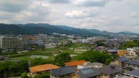 Θέα βουνού Mino στοκ εικόνες