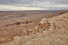 Θέα βουνού Negev Στοκ Εικόνες