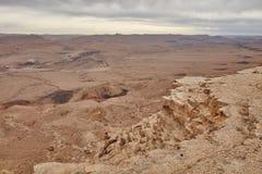 Θέα βουνού Negev Στοκ Φωτογραφίες