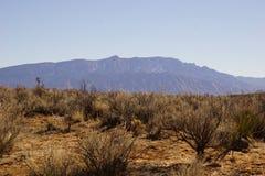Θέα βουνού Sandia Στοκ φωτογραφία με δικαίωμα ελεύθερης χρήσης