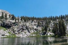 θέα βουνού sequoia στο εθνικό πάρκο στοκ εικόνες