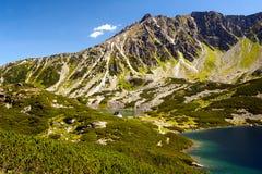 Θέα βουνού Tatry Στοκ φωτογραφία με δικαίωμα ελεύθερης χρήσης