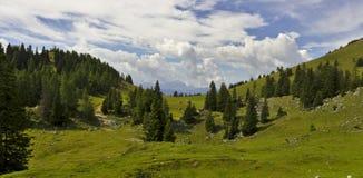 Θέα βουνών στην Αυστρία Στοκ φωτογραφίες με δικαίωμα ελεύθερης χρήσης