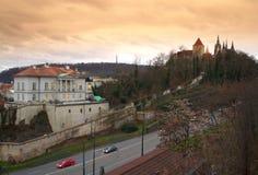 Θέα της Πράγας Στοκ εικόνες με δικαίωμα ελεύθερης χρήσης