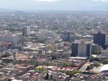 Θέα της πόλης Ciudad της Πόλης του Μεξικού από την κορυφή του λατινοαμερικάνικου πύργου - Μεξικό στοκ φωτογραφίες με δικαίωμα ελεύθερης χρήσης