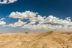 Θέες βουνού στην έρημο Τουρίστες πάνω από έναν λόφο Τυνησία Στοκ Εικόνες