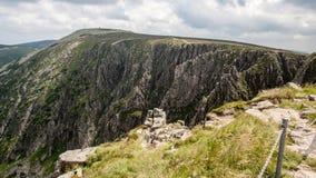 Θέες βουνού Karkonosze στοκ εικόνα με δικαίωμα ελεύθερης χρήσης