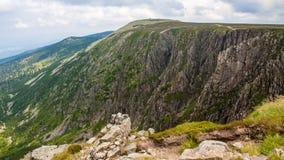 Θέες βουνού Karkonosze στοκ εικόνες με δικαίωμα ελεύθερης χρήσης