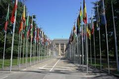 Θέες της Γενεύης στοκ φωτογραφίες με δικαίωμα ελεύθερης χρήσης