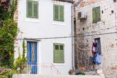 Θέες της Κροατίας Όμορφη διάσπαση πόλεων κροατικός παράδεισος diocletian παλάτι Στοκ εικόνα με δικαίωμα ελεύθερης χρήσης