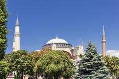 Θέες της Τουρκίας sophia της Κωνσταντινούπολης hag Στοκ Εικόνα