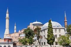 Θέες της Τουρκίας sophia της Κωνσταντινούπολης hag Στοκ φωτογραφία με δικαίωμα ελεύθερης χρήσης