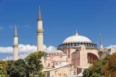 Θέες της Τουρκίας sophia της Κωνσταντινούπολης hag Στοκ Φωτογραφίες