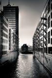 Θέες χάμπουργκερ - πόλη αποθηκών εμπορευμάτων Στοκ φωτογραφία με δικαίωμα ελεύθερης χρήσης