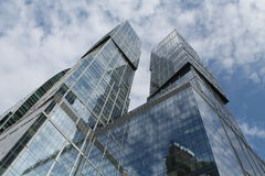 θέμα απεικόνισης εμπορικών κέντρων αρχιτεκτονικής Στοκ Εικόνα