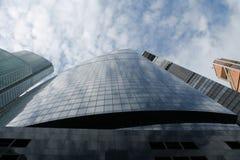 θέμα απεικόνισης εμπορικών κέντρων αρχιτεκτονικής Στοκ Εικόνες