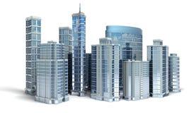θέμα απεικόνισης εμπορικών κέντρων αρχιτεκτονικής Στοκ εικόνες με δικαίωμα ελεύθερης χρήσης