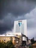 θέμα απεικόνισης εμπορικών κέντρων αρχιτεκτονικής Στοκ Φωτογραφία
