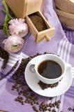 θέμα καφέ Στοκ Εικόνες