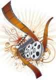 θέμα λουρίδων κινηματογρ διανυσματική απεικόνιση