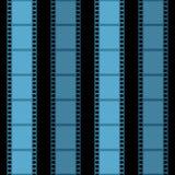 θέμα λουρίδων διάλυσης κινηματογράφων απεικόνισης ταινιών ανασκόπησης γεια Στοκ Εικόνα