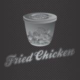 Θέμα τροφίμων και ποτών απεικόνιση αποθεμάτων