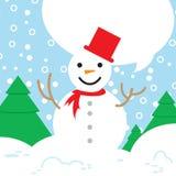 Θέμα Χριστουγέννων προτύπων Στοκ εικόνα με δικαίωμα ελεύθερης χρήσης