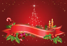 θέμα Χριστουγέννων Στοκ φωτογραφία με δικαίωμα ελεύθερης χρήσης