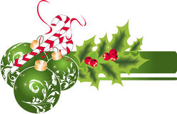 θέμα Χριστουγέννων Στοκ φωτογραφίες με δικαίωμα ελεύθερης χρήσης