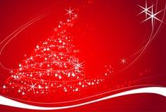 θέμα Χριστουγέννων Στοκ Εικόνα
