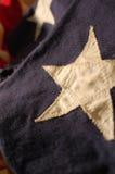θέμα λωρίδων αστεριών Ιουλίου εορτασμού τέταρτο στοκ φωτογραφίες με δικαίωμα ελεύθερης χρήσης