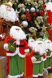 θέμα santa δώρων Χριστουγέννων Στοκ εικόνες με δικαίωμα ελεύθερης χρήσης