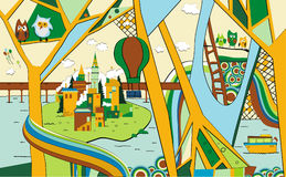 θέρετρο απεικόνισης Στοκ φωτογραφία με δικαίωμα ελεύθερης χρήσης