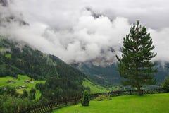 Θέρετρο βουνών στοκ φωτογραφία