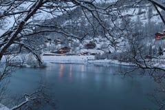 Θέρετρο βουνών Στοκ φωτογραφίες με δικαίωμα ελεύθερης χρήσης