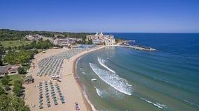 Θέρετρο θάλασσας Dyuni άνωθεν, Βουλγαρία Στοκ φωτογραφία με δικαίωμα ελεύθερης χρήσης