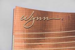 Θέρετρο και χαρτοπαικτική λέσχη του Λας Βέγκας Wynn Στοκ φωτογραφία με δικαίωμα ελεύθερης χρήσης