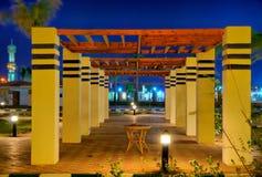 θέρετρο νύχτας της Αιγύπτ&omicron Στοκ εικόνα με δικαίωμα ελεύθερης χρήσης