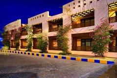 θέρετρο νύχτας της Αιγύπτ&omicron στοκ φωτογραφία με δικαίωμα ελεύθερης χρήσης