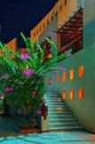 θέρετρο νύχτας της Αιγύπτ&omicron Στοκ Φωτογραφία