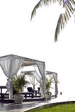 Θέρετρο ξενοδοχείων υπαίθριο μια φωτεινή ημέρα στοκ φωτογραφίες με δικαίωμα ελεύθερης χρήσης