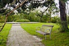 θέρετρο πάρκων πάγκων Στοκ Εικόνα