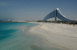 θέρετρο παραλιών jumeirah Στοκ φωτογραφίες με δικαίωμα ελεύθερης χρήσης