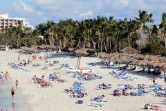 Θέρετρο πολυτέλειας σε Varadero, Κούβα Στοκ εικόνα με δικαίωμα ελεύθερης χρήσης