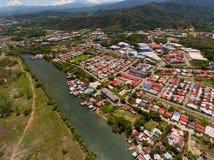 Θέρετρο πόλεων Kinabalu Kota στοκ εικόνα