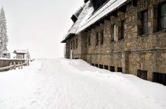 Θέρετρο στα βουνά Στοκ φωτογραφία με δικαίωμα ελεύθερης χρήσης