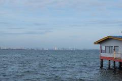 Θέρετρο στην παραλία Στοκ εικόνα με δικαίωμα ελεύθερης χρήσης