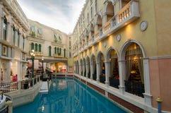 Θέρετρο της Βενετίας, Μακάο, Κίνα: Στοκ Εικόνες