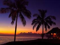 Θέρετρο της Ταϊτή Στοκ Εικόνα