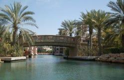 θέρετρο του Ντουμπάι jumeirah Στοκ Εικόνες